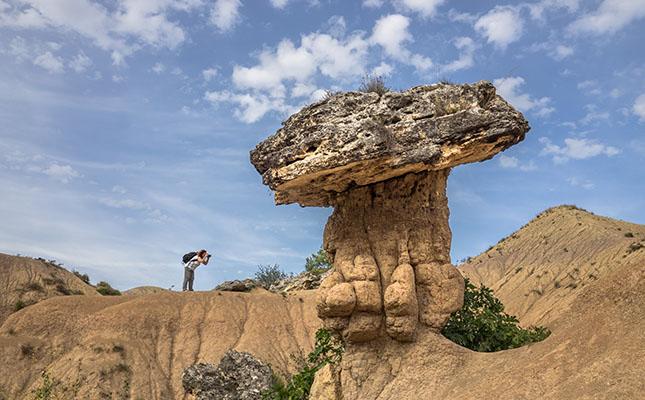 La roca del Bolet