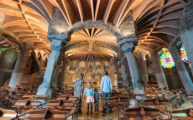 La Cripta Gaudí, a la Colònia Güell