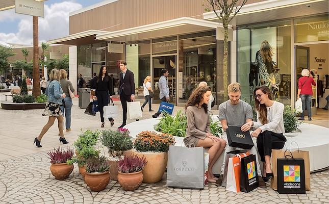Un dels espais del Viladecans The Style Outlets