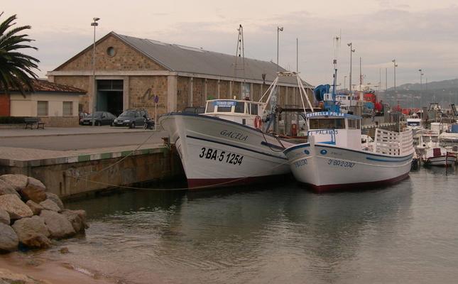 Barques i museu de la pesca de Palamós