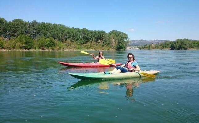 Wine and kayak
