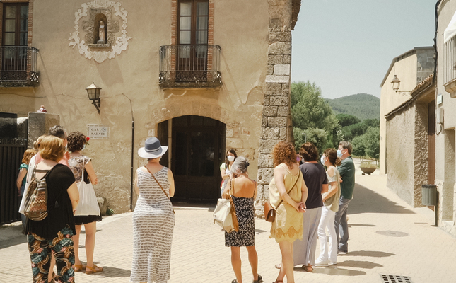 Visita a Vallbona d'Anoia