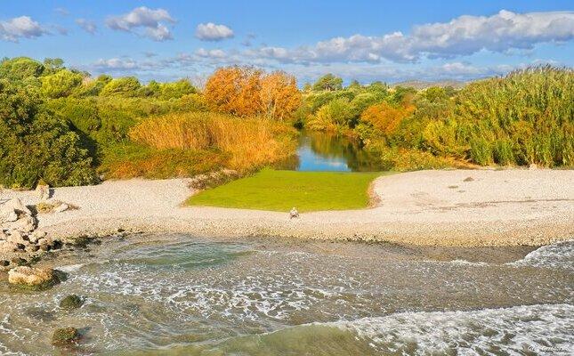 Riu de la Sénia