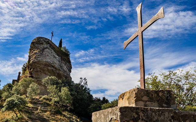 Creu al santuari de Rocacorba