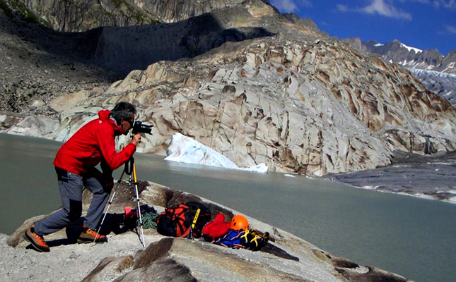 Jordi Camins, expert en glaciologia