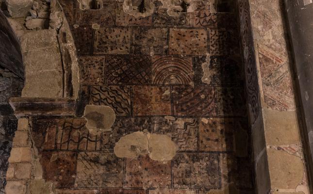 Pintures murals al castell Templer de Gardeny