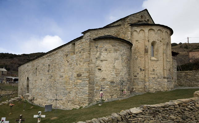 Església Sant Vicenç d'Estamariu