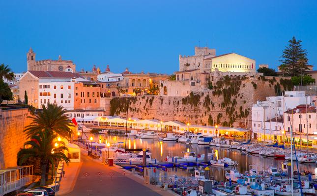 El port de Ciutadella