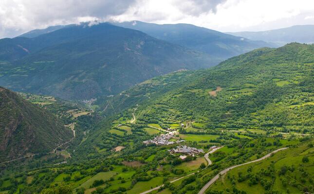 La vall d'Àssua