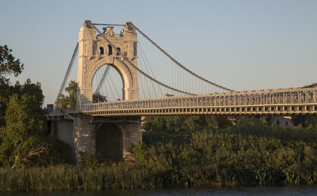 Pont penjant d'Amposta