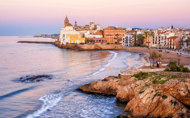 Platja San Sebastià Sitges