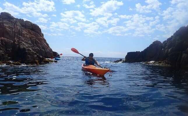 Sant Feliu de Guixols - kayak