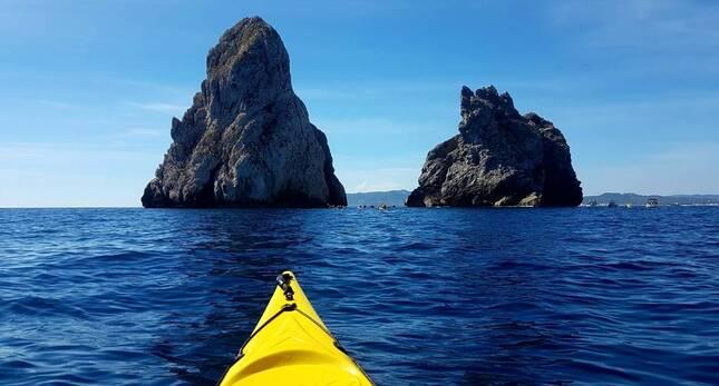 illes Medes kayak