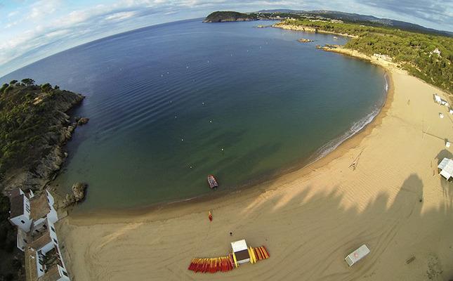 platja Castell Palamós