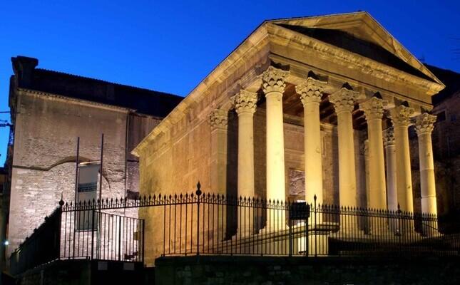 temple romà vic