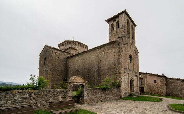 L'església romànica de Sant Jaume de Frontanyà