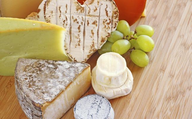 Diversos tipus de formatges
