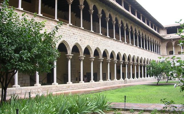 Claustre del monestir de Pedralbes