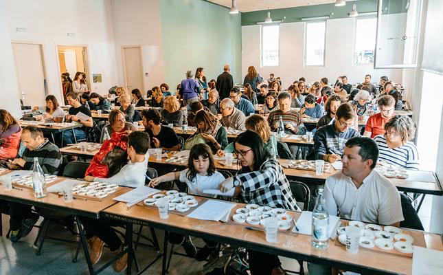Un dels tallers de la 4a Jornada Gastronòmica de les Plantes Oblidades