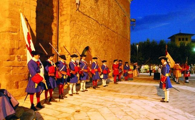 Recreació històrica durant l'Aplec de Cardona