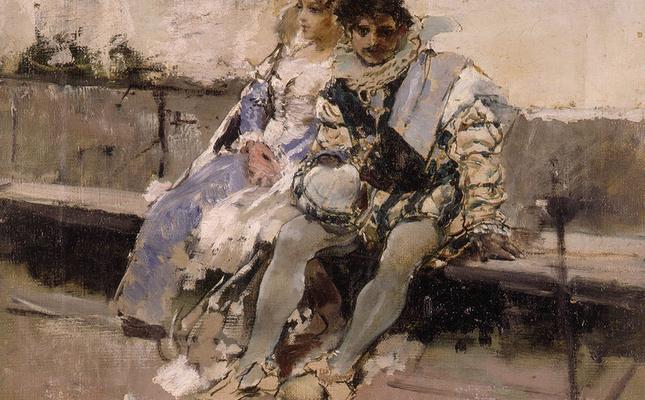 'Enamorats', Ignacio Pinazo