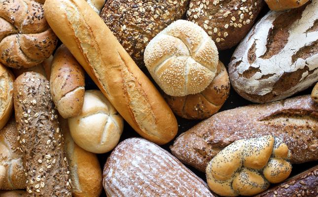 Diferents varietats de pans