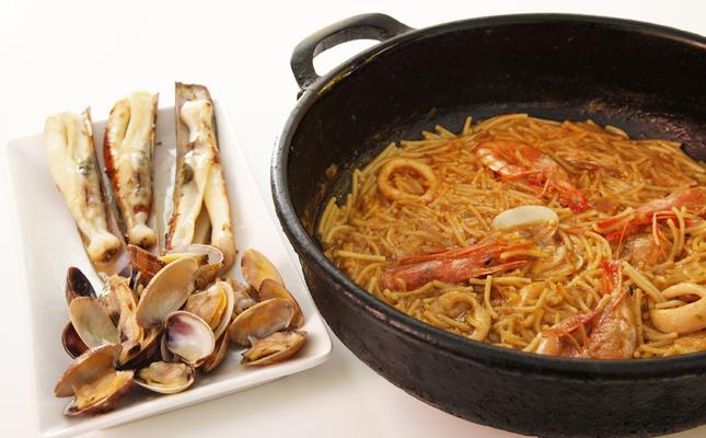 Una de les receptes marineres del Palamós Gastronòmic
