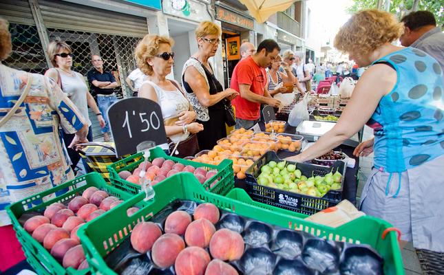 Parada del mercat de pagès