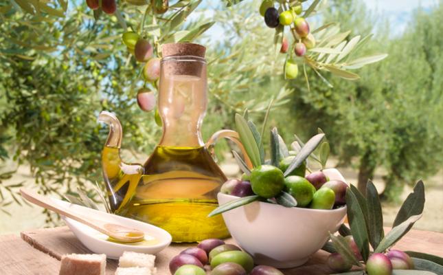 Setrill amb oli d'oliva verge extra