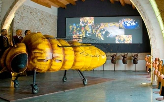 La fil·loxera gegant del Centre d'Interpretació del Cava