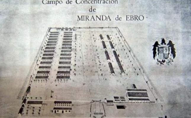 Plànol del camp de Miranda de Ebro