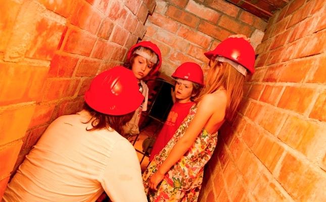 Visita a la mina d'aigua del Masnou
