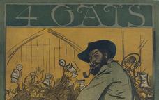 Cartell d'Els Quatre Gats