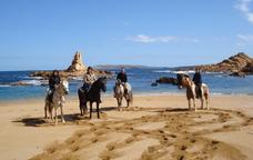 A cavall per Menorca