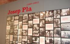 Inici de l'exposici� permanent de la Fundaci� Josep Pla