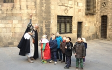 Rutes infantils per la Barcelona medieval