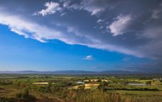 Els horitzons del Pla d'Urgell a la vora de Sidamon