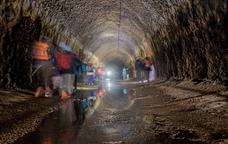 El túnel de Montclar és el més llarg del canal d'Urgell