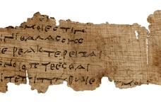 Papir amb fragment de l'Odissea