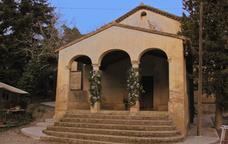 L'ermita de Sant Muç, escenari on cada any se celebra la Festa dels Xatos