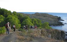 Activitat d'Enosenderisme a la costa de Llançà