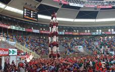 Els Xics de Granollers al Concurs de castells de Tarragona