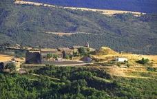 La cara nord del municipi de Pinós
