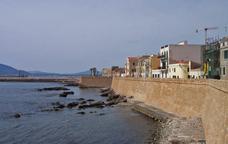Vista de la ciutat de l'Alguer