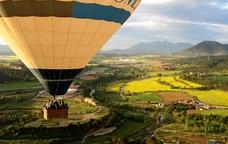 Vol en globus al Bages