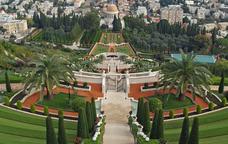 Santuari del Báb al Centre Mundial Bahá'í, al Mont Carmel, a Haifa, Israel. © David Shankbone