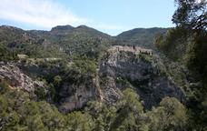 Eremites i aigües minerals a la serra de Cardó