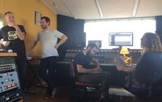 Belda&Sanjosex enregistren C�ntut pel festival hom�nim