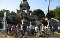 Rutes guiades en bicicleta per Barcelona