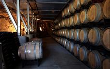 Bótes de vi del celler Alta Alella